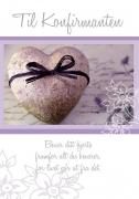 Dobbelt kort Til konfirmanten Bevar ditt hjerte
