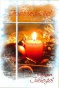 Dobbelt Julekort Jesus er verdens lys
