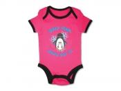 Baby body Pingvin rosa