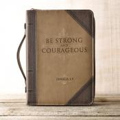Bibelcover brunt Josva 1:9