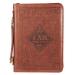 Bibelcover(L) brun - Names of God -2.Mos 34:6