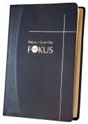 Bibelen – Guds Ord / Fokus skifergrått kunstskinn uten register