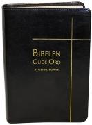 Bibelen – Guds Ord Studieutgave – sort kalveskinn med register