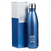 Vannflaske - Blå - Hebreerne 6:19