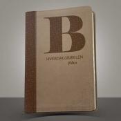 Hverdagsbibelen PLUSS / Brun/Innskåret register