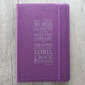 Notatbok - Lilla - Salme 19:14