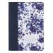 Notatbok Classic blue floral Psalm 46:10
