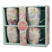 Krus/Floral Inspirations set of four Coffee Mug