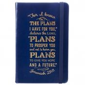 Notatbok - Blå - liten - Jer.29:11