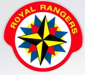 Royal Rangers Klistremerke - lite