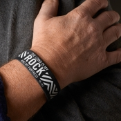 Armbånd - The Lord is my rock and my fortress