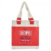 Retro Blessings, Hope Hebrews 6:19 Tote Bag