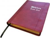 Bibelen Guds Ord - ultratynn rød med register