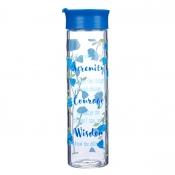 Glassvannflaske Serenity Prayer